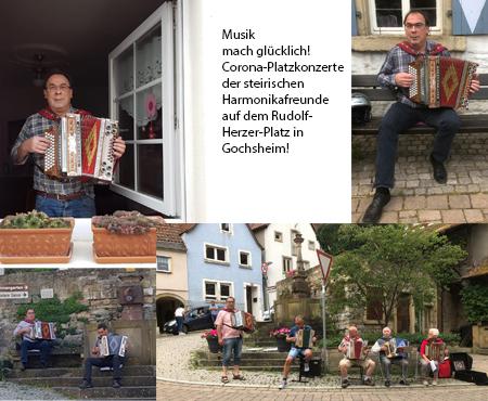 Platzkonzert der Freunde der steirischen Harmonika
